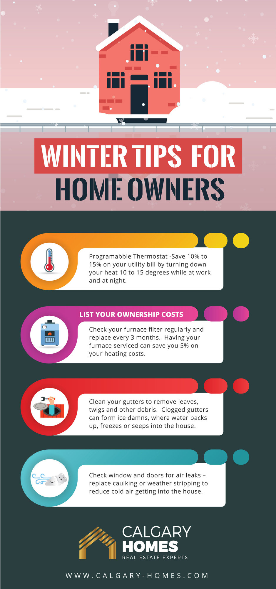 Winter Tips for Home Owners